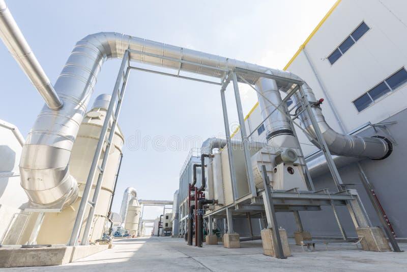 Avfalls-till-energi lätthet royaltyfria bilder