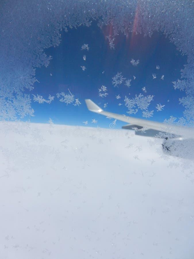 Avião alto fotos de stock