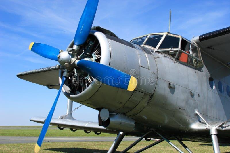 Avião Antonov 2 fotos de stock