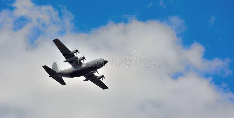 Avião belga da hélice do exército fotografia de stock royalty free