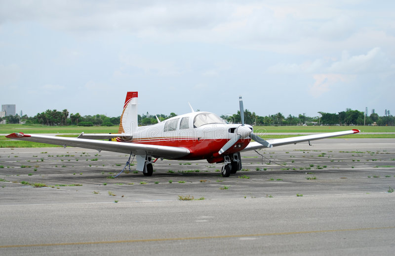 Avião confidencial do turboprop fotos de stock
