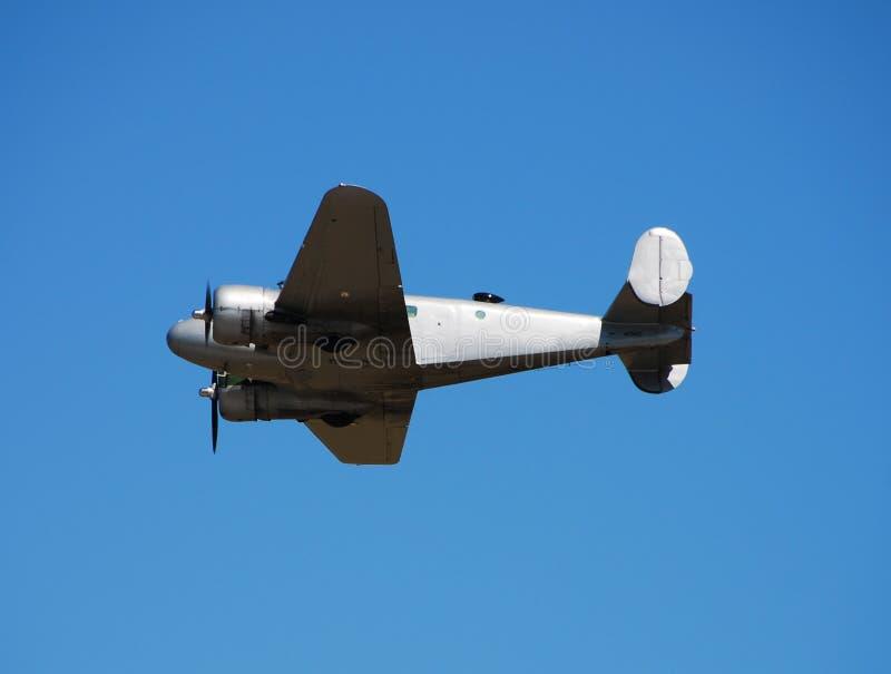 Avião da hélice do vintage fotografia de stock royalty free