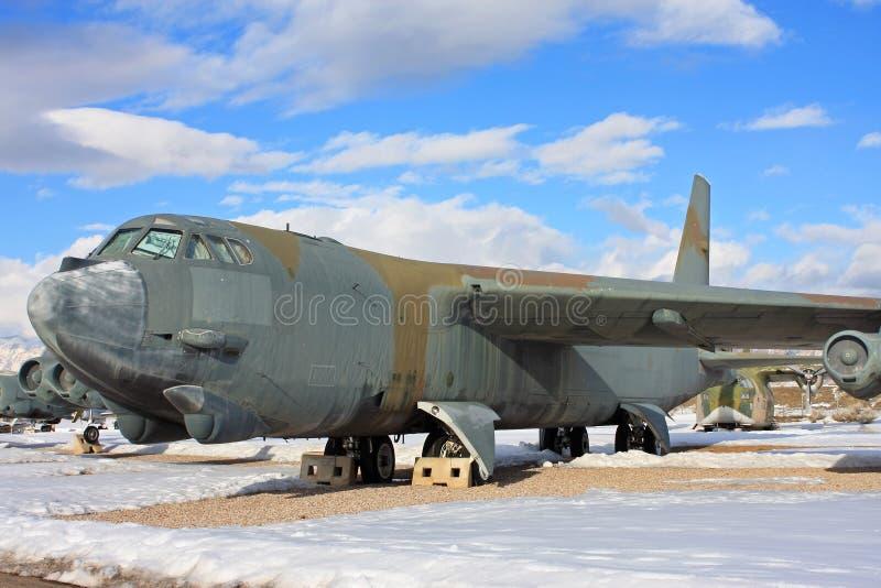 Avião das forças armadas do vintage fotografia de stock royalty free