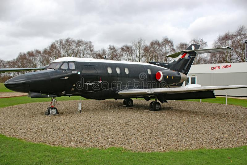Avião das forças armadas do vintage fotos de stock royalty free