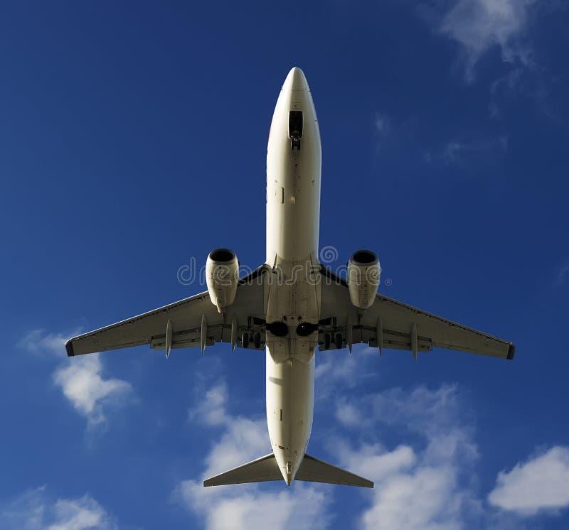 Avião de BOEING 737-800 foto de stock royalty free