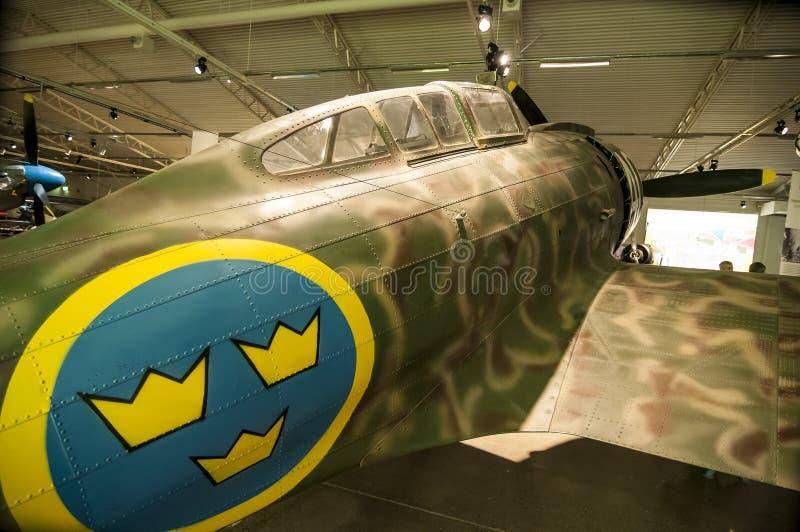 Avião de combate de Reggiano imagem de stock
