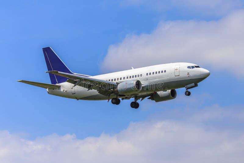 Avião de passageiros pequeno imagem de stock royalty free