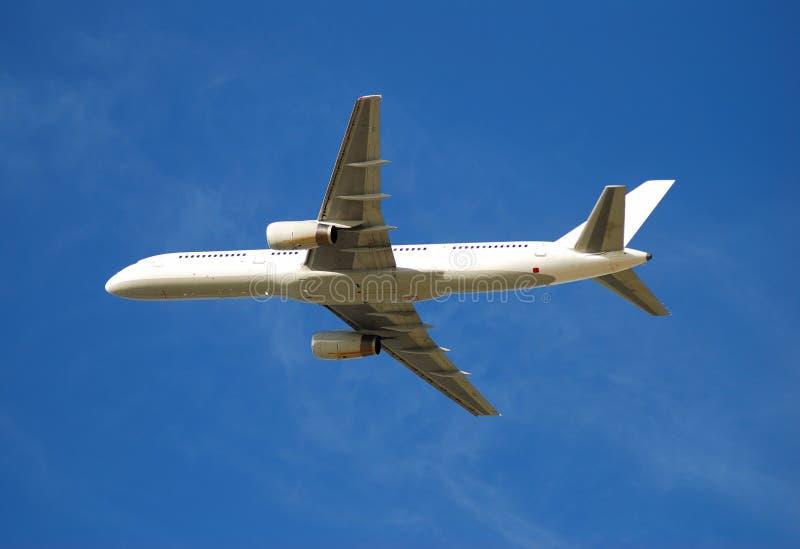 Avião de passagem de Boeing 757 foto de stock
