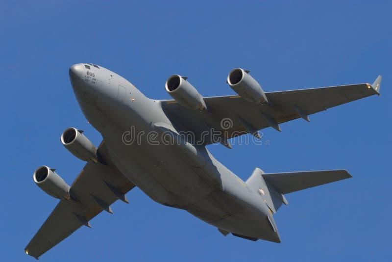 Avião de transporte do C17 Globemaster fotos de stock royalty free