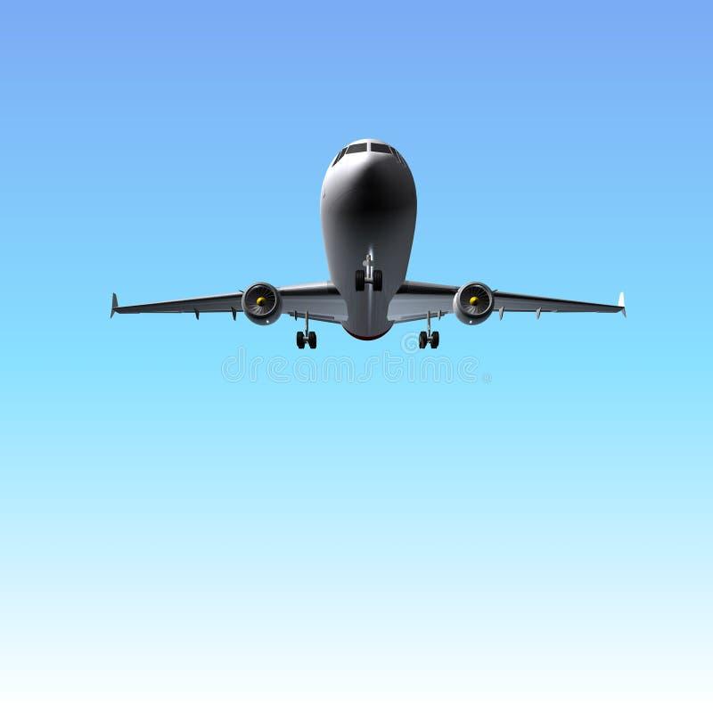 Avião do avião ilustração stock