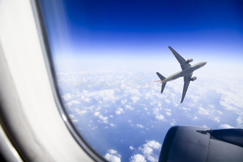 Avião do jato fotos de stock royalty free