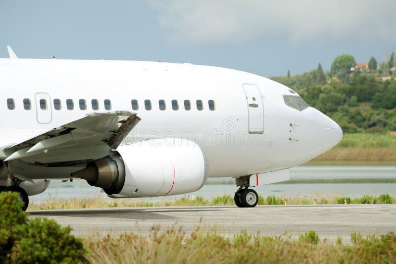Avião do passageiro imagens de stock royalty free