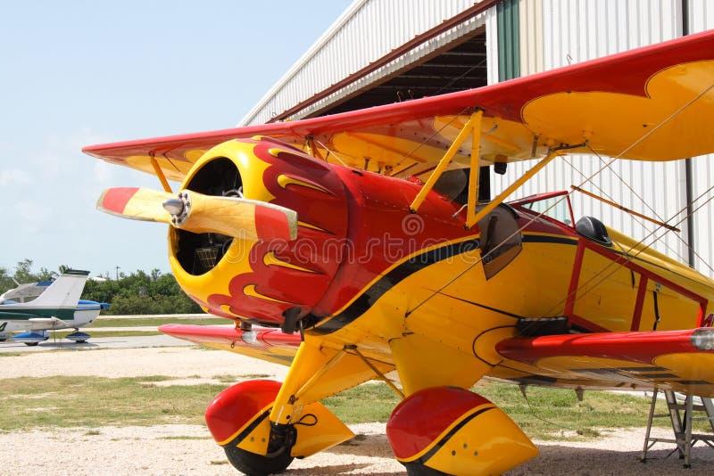 Avião do vintage imagem de stock