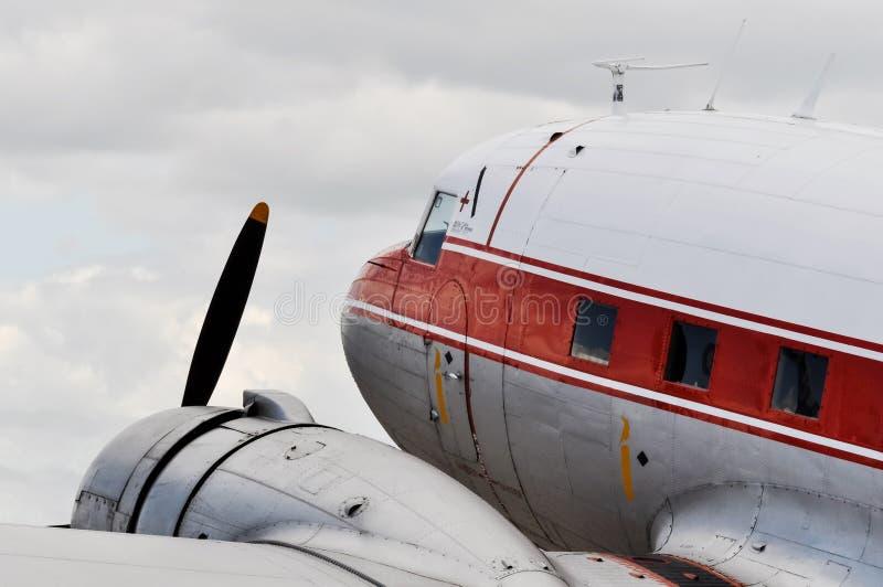 Avião do vintage fotos de stock