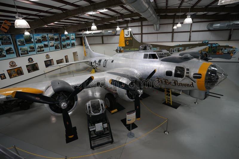 Avião do vintage fotografia de stock