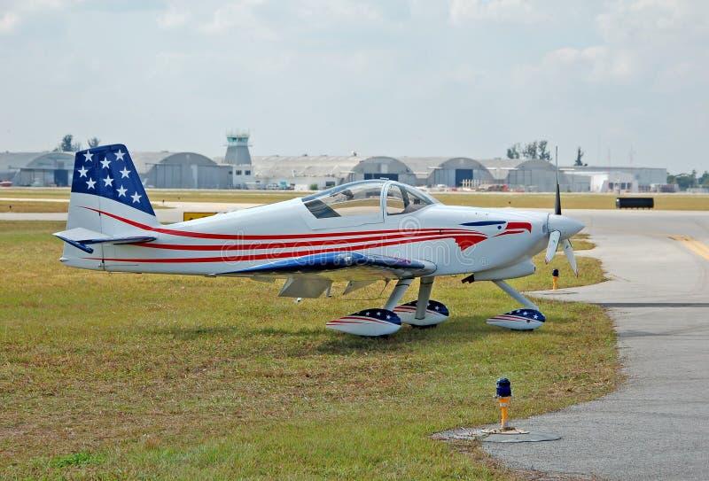 Avião leve pequeno foto de stock royalty free