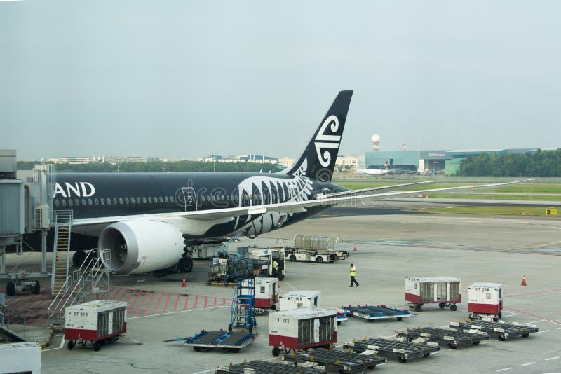 Avião neozelandês foto de stock