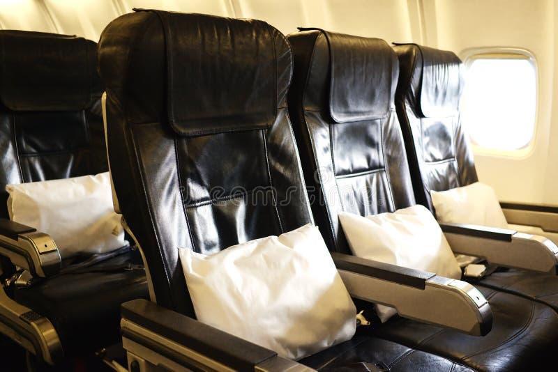 Avião para dentro fotografia de stock royalty free