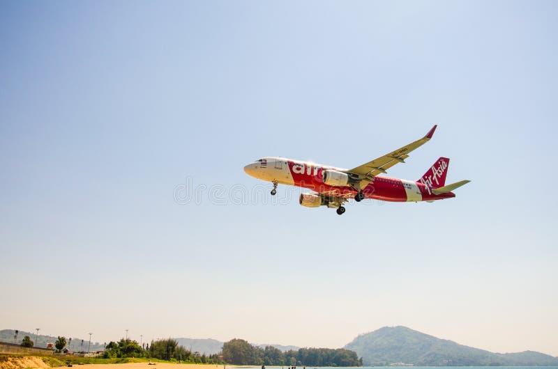 Avião phuket imagens de stock royalty free