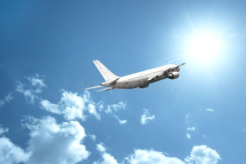 Avião rápido foto de stock