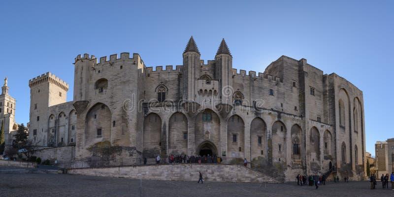 Aviñón: Palacio de los papas imagen de archivo