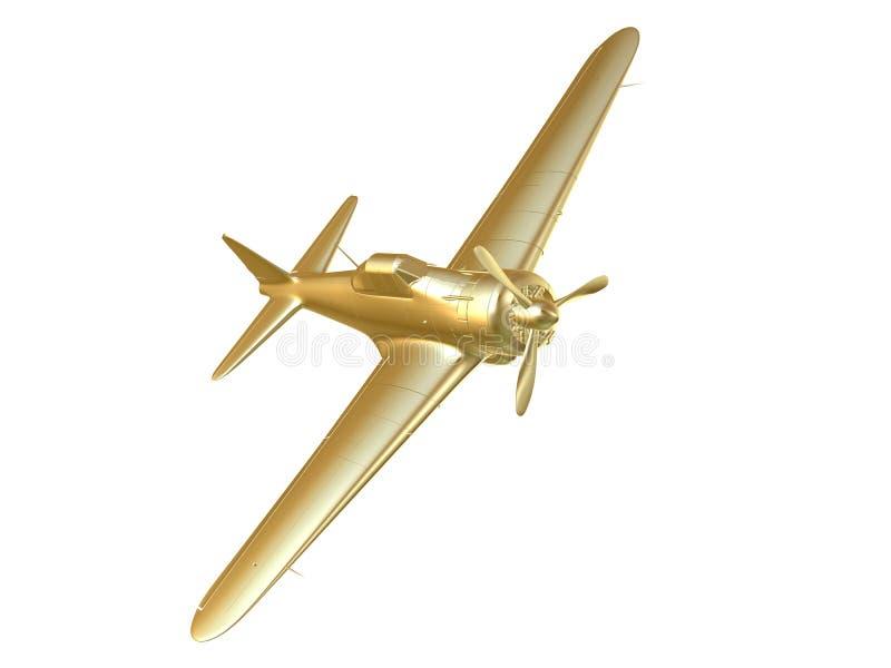 Avión stock de ilustración