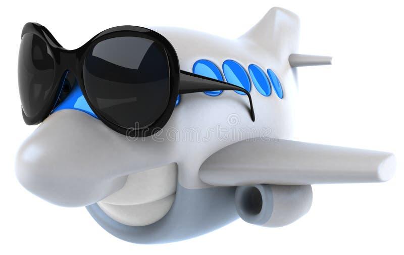 Avión ilustración del vector