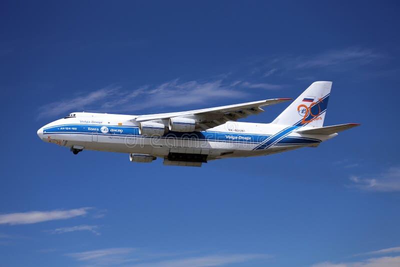 Avión de carga fotografía de archivo