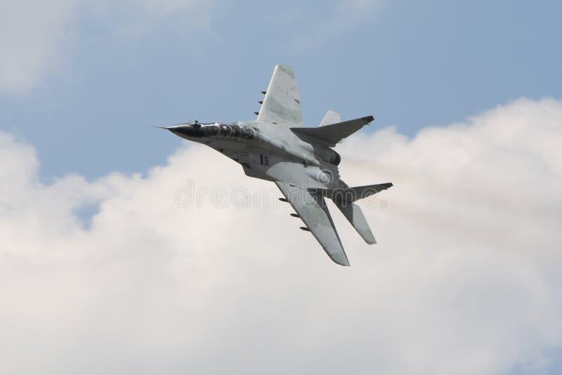 Avión de combate militar ruso mig 29 imagen de archivo libre de regalías