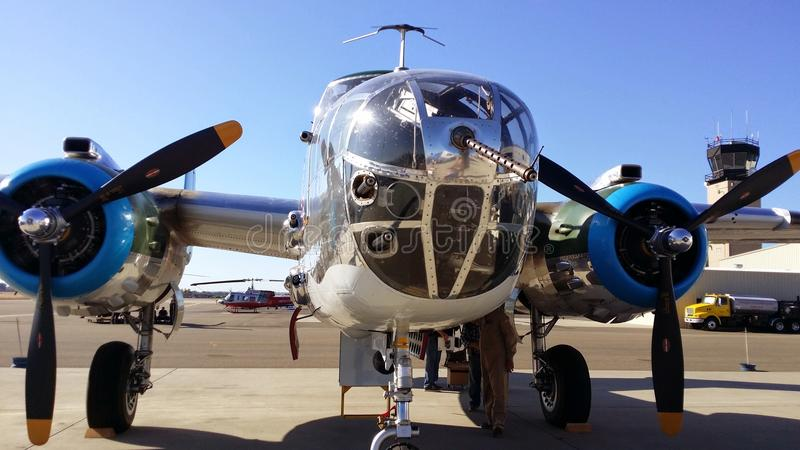Avión de la guerra mundial 2 foto de archivo