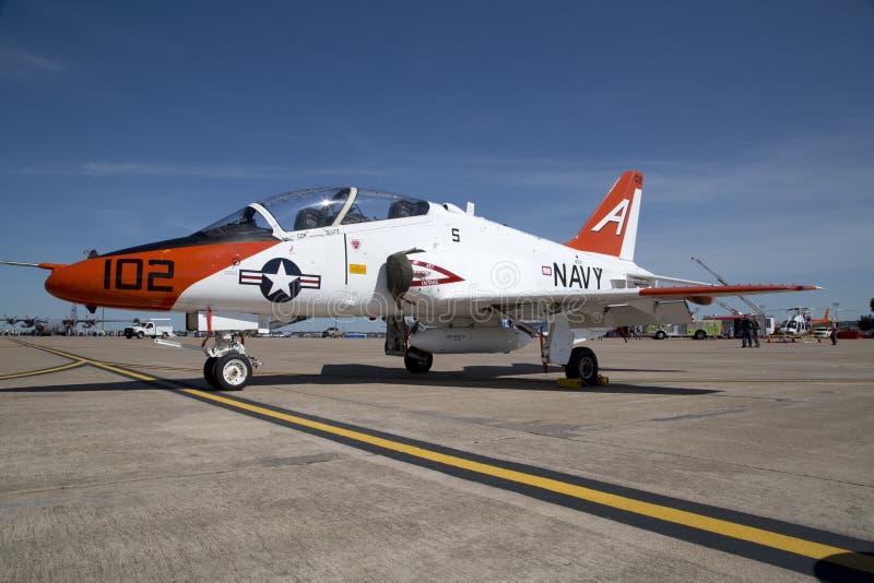 Avión de la marina de guerra de los E.E.U.U. imagenes de archivo