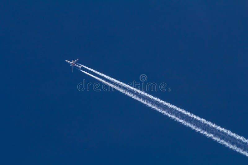 Avión de reacción foto de archivo
