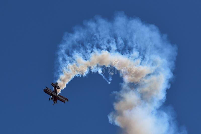 Avión del truco fotografía de archivo