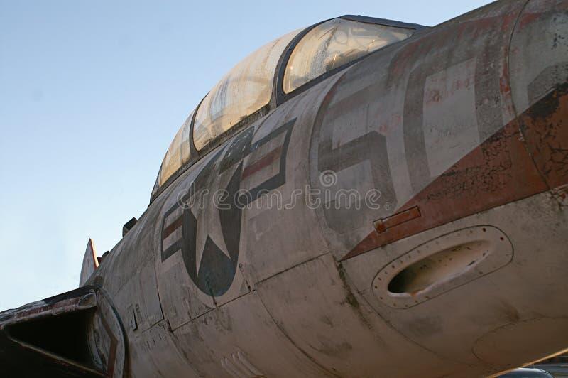 Avión retro de la guerra del salvamento foto de archivo