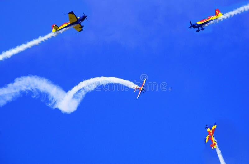 Aviões imagens de stock royalty free