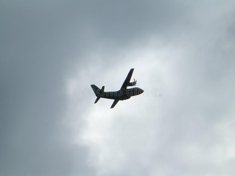 Aviões com duas hélices fotografia de stock