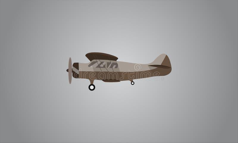 Aviões da geração adiantada fotografia de stock