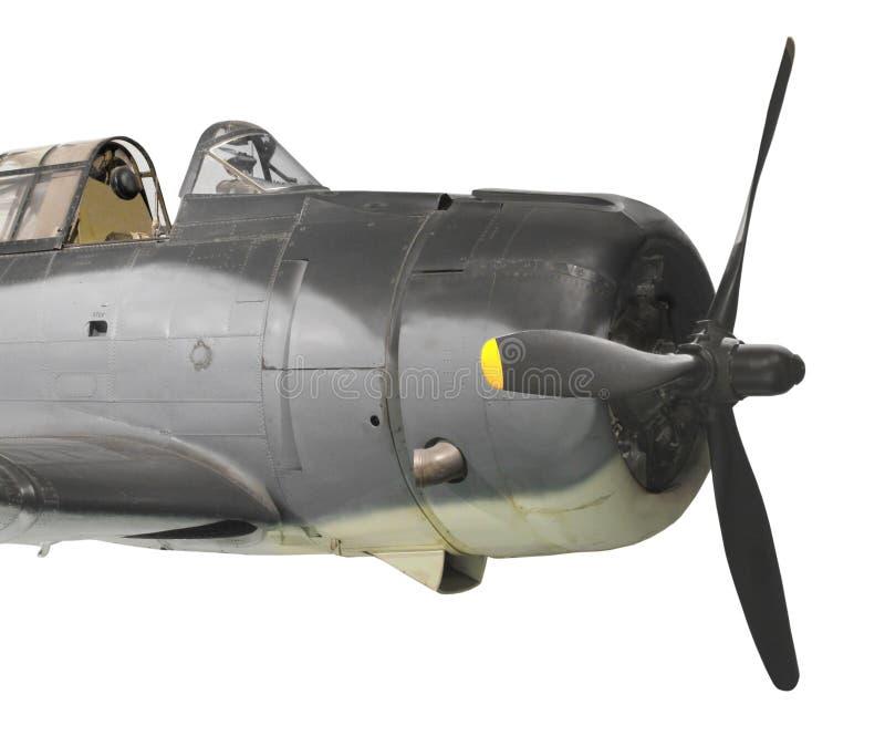 Aviões de bombardeiro do mergulho do vintage isolados fotografia de stock royalty free