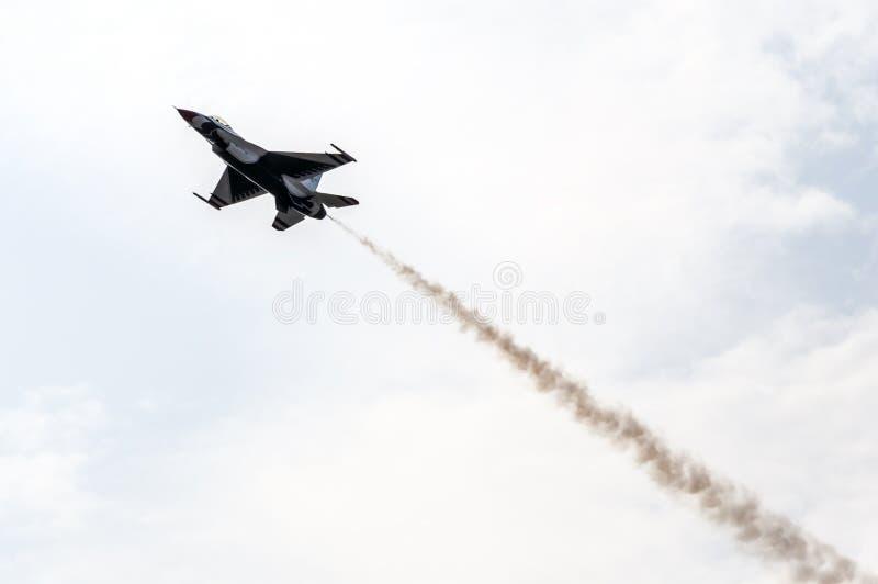 Aviões de combate modernos fotografia de stock royalty free