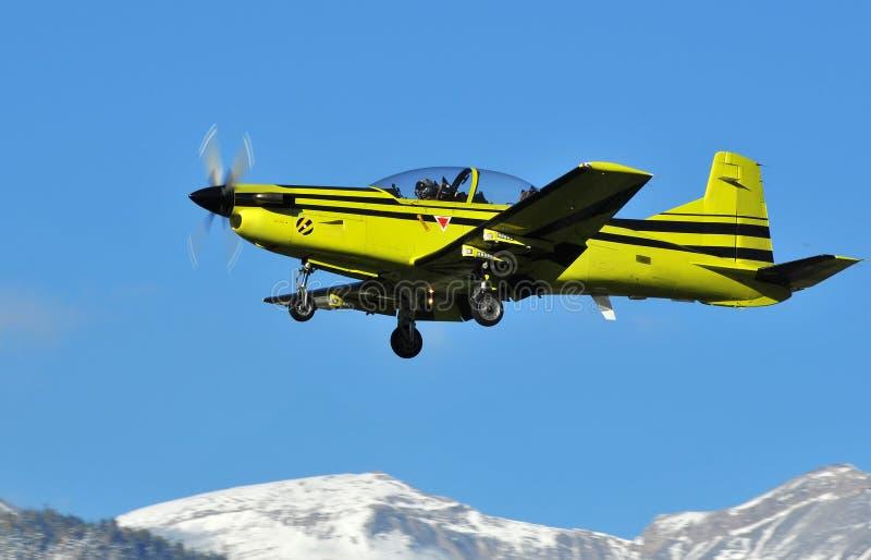 Aviões de instrutor foto de stock royalty free