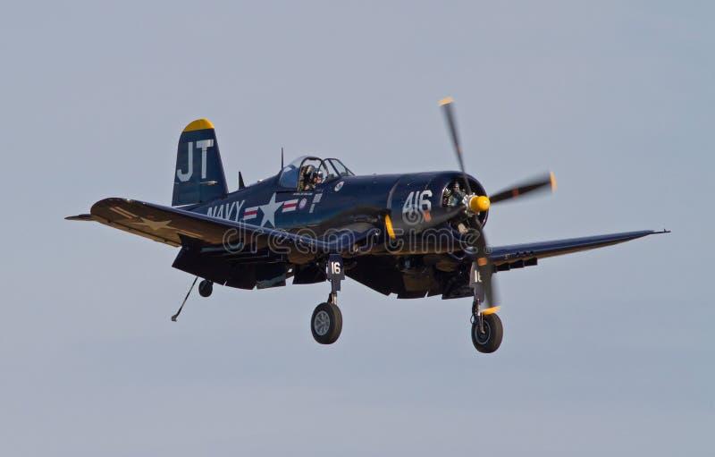 Aviões de lutador do corsário do vintage fotos de stock royalty free