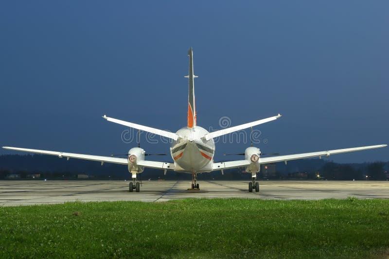 Aviões de negócio imagem de stock royalty free