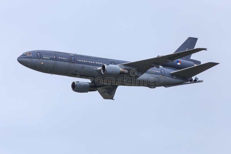 Aviões de petroleiro fotografia de stock