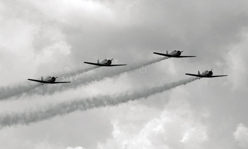 Aviões de Vintge foto de stock royalty free