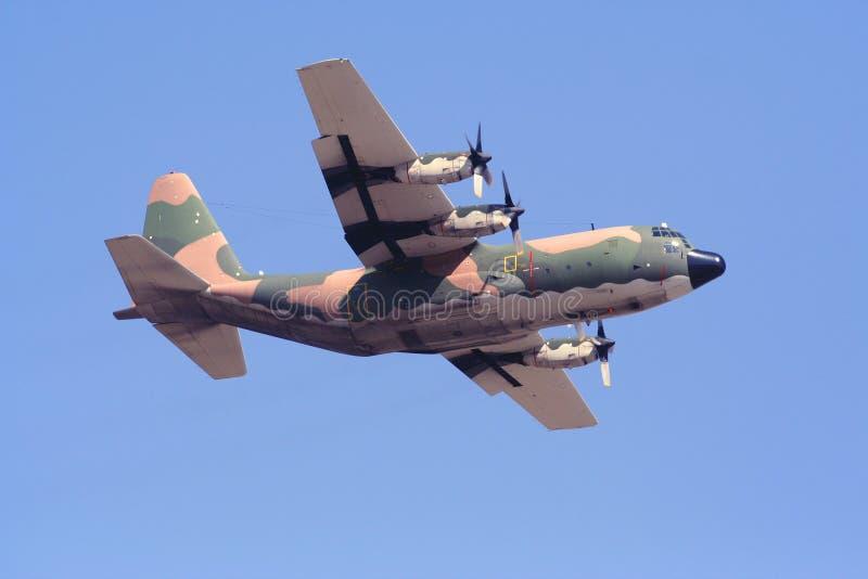 Aviões do transporte de C-130H Hercules fotos de stock