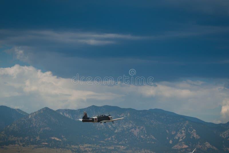 Aviões do vintage imagem de stock