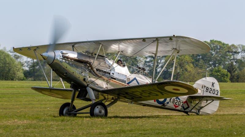 Aviões 1937 do vintage de Demon do vendedor ambulante foto de stock royalty free
