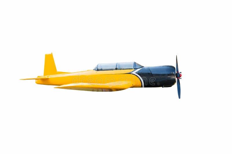 Aviões do vintage isolados fotografia de stock royalty free