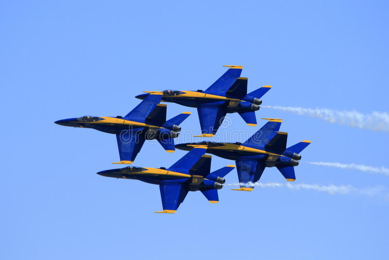 Aviões na formação fotos de stock royalty free