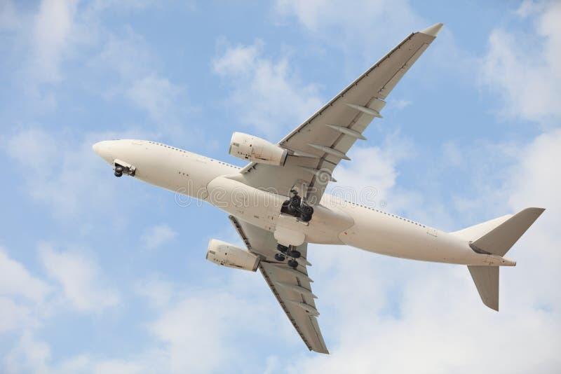 Aviões no céu imagens de stock royalty free